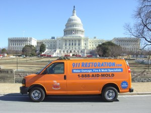 Water Removal Washington DC Van