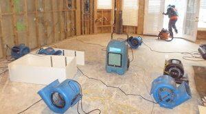 Flood Damage Restoration Job