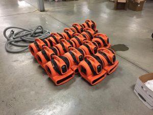 Water-Damage-Equipment-Floor-Preparation