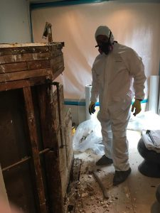 Fire Damage Restoration In A Residential Property